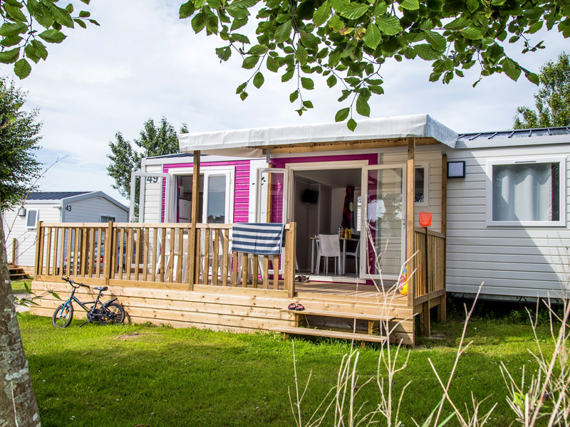 Mobile Home for Rent Ar Kleguer Campsite