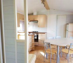 2-Bedroom Mobile Home for Rent Ar Kleguer Campsite