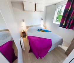 Campingplatz Ar Kleguer Mobilheimunterkunft 3 Schlafzimmer