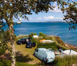 Camping Ar Kleguer emplacement bord de mer