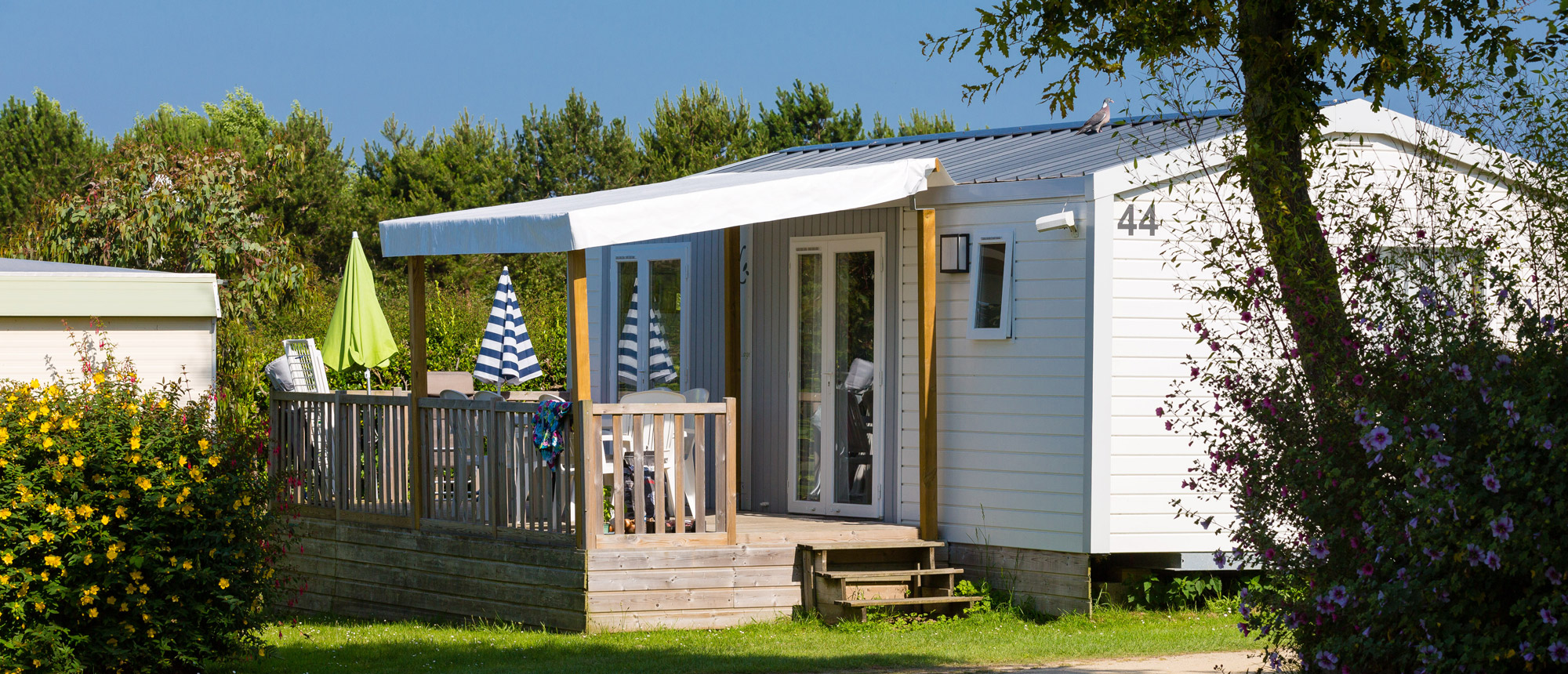 mobile-home camping Ar Kleguer