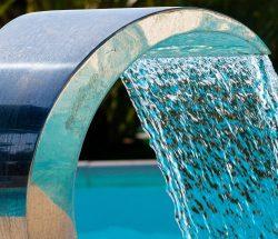 fontaine piscine Camping Ar Kleguer