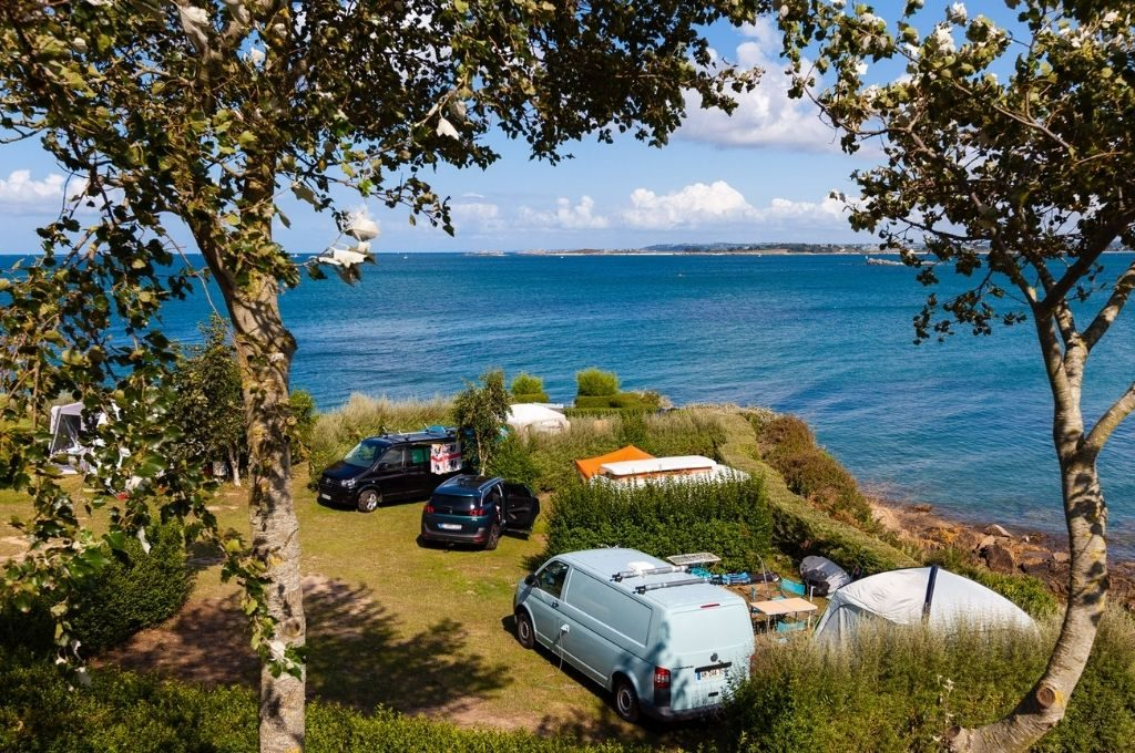 emplacement camping roscoff